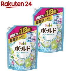 ボールドプラチナクリーンプラチナピュアクリーンの香り詰替用超特大1.26kg×2個入