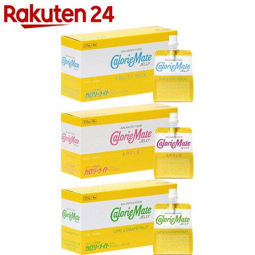 カロリーメイト ゼリー アソートセット 18個(215g×3種×各6個)【24】[カロリーメイト ゼリー飲料(バランス栄養食品)]