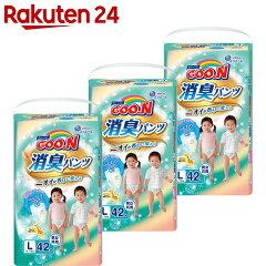 【ケース販売】グーン消臭パンツLサイズ42枚入×3パック