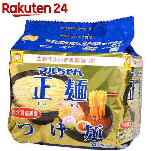 マルちゃん正麺 つけ麺 魚介醤油豚骨 5食入×6袋【24】【ケース販売】[マルちゃん つけ麺]