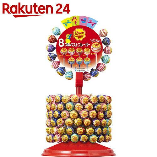 【数量限定】チュッパホイールセット 135本【24】[チュッパチャップス 棒付きキャンディー]