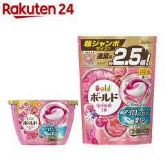ボールド ジェルボール3D 癒しのプレミアムブロッサムの香り 本体+詰替用 超ジャンボ(1セット)