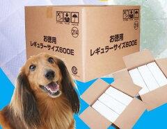 ■ペット用1回使い捨てペットシーツ レギュラーサイズ600枚入り ES200E【販売:e-netshop Pet...