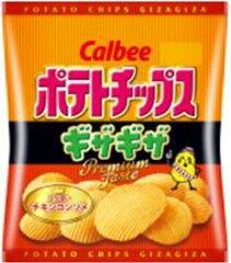 カルビー ポテトチップスギザギザ コク深いチキンコンソメ 60g【販 売:飲 物 屋】【あす楽対...