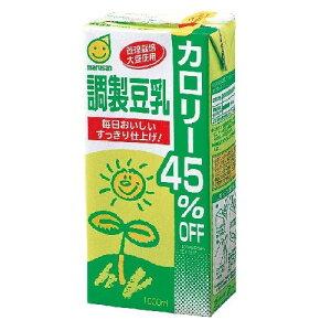 マルサンアイ 調製豆乳 カロリー45%オフ 1000ml×6本 ケース売り / 1880円以上で送料無料 /...