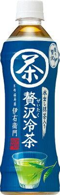 サントリーフーズ 伊右衛門贅沢冷茶 500ml×24 ケース売り【販売:食べモール】【楽ギフ_...