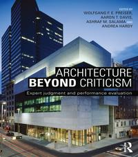 Architecture Beyond CriticismExpert Judgment and Performance Evaluation【電子書籍】