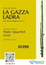 楽天Kobo電子書籍ストアで買える「La Gazza Ladra - Flute Quartet score & partsoverture【電子書籍】[ Gioacchino Rossini ]」の画像です。価格は2,533円になります。