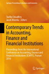Contemporary Trends in Accounting, Finance and Financial InstitutionsProceedings from the International Conference on Accounting, Finance and Financial Institutions (ICAFFI), Poznan 2016【電子書籍】