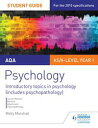 AQA Psychology Student Guide 1: Introductory topics in psychology (includes psychopathology)【電子書籍】[ Molly Marshall ]