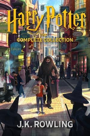 洋書, BOOKS FOR KIDS Harry Potter: The Complete Collection (1-7) J.K. Rowling