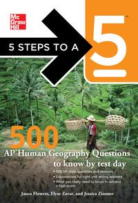 5 Steps to a 5 500 AP Human Geography Questions to Know by Test Day【電子書籍】[ Jason Flowers ]