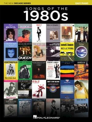 洋書, ART & ENTERTAINMENT Songs of the 1980sThe New Decade Series Hal Leonard Corp.
