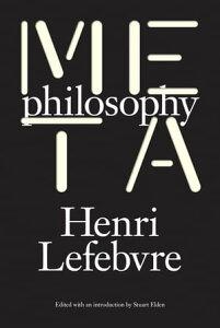 Metaphilosophy【電子書籍】[ Henri Lefebvre ]