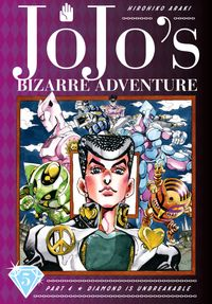 洋書, FAMILY LIFE & COMICS JoJos Bizarre Adventure: Part 4--Diamond Is Unbreakable, Vol. 5 Hirohiko Araki