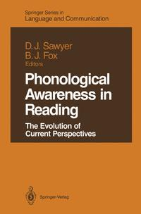 Phonological Awareness in ReadingThe Evolution of Current Perspectives【電子書籍】