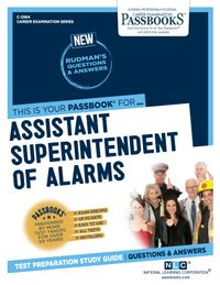Assistant Superintendent of AlarmsPassbooks Study Guide【電子書籍】[ National Learning Corporation ]