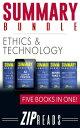 楽天Kobo電子書籍ストアで買える「SUMMARY BUNDLE | Ethics & TechnologyIncludes Summary of AI Superpowers, Summary of Brief Answers to the Big Questions, Summary of The Laws of Human Nature + 2 BONUS BOOKS!【電子書籍】[ ZIP Reads ]」の画像です。価格は891円になります。