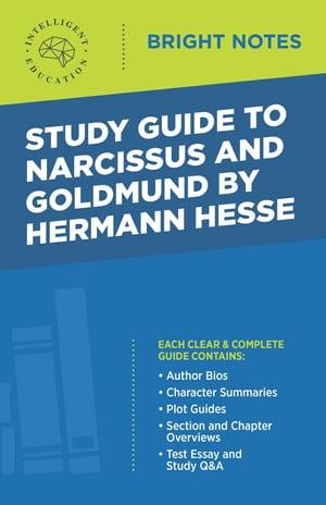 洋書, REFERENCE & LANGUAGE Study Guide to Narcissus and Goldmund by Hermann Hesse Intelligent Education