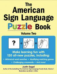 The American Sign Language Puzzle Book Volume 2【電子書籍】[ Justin Segal ]