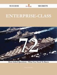 洋書, FAMILY LIFE & COMICS Enterprise-Class 72 Success Secrets - 72 Most Asked Questions On Enterprise-Class - What You Need To Know Doris Edwards