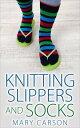 Knitting Slipper...