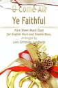O Come All Ye Faithful Pure Sheet Music Duet for English Horn and Double Bass, Arranged by Lars Christian Lundholm【電子書籍】[ Pure Sheet Music ]