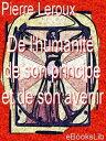 De l'humanit?, d...