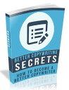 楽天Kobo電子書籍ストアで買える「Better Copywriting Secrets【電子書籍】[ Anonymous ]」の画像です。価格は99円になります。