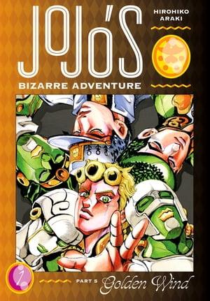 洋書, FAMILY LIFE & COMICS JoJos Bizarre Adventure: Part 5--Golden Wind, Vol. 1 Hirohiko Araki