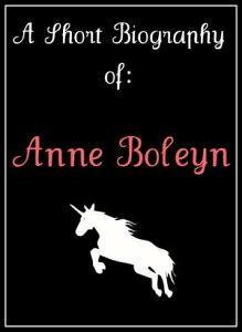 Anne Boleyn: A Short Biography【電子書籍】[ Ashleigh Jenson ]