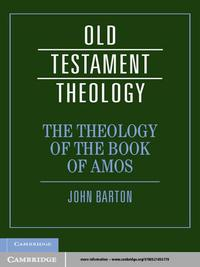 The Theology of the Book of Amos【電子書籍】[ John Barton ]