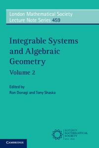洋書, COMPUTERS & SCIENCE Integrable Systems and Algebraic Geometry: Volume 2
