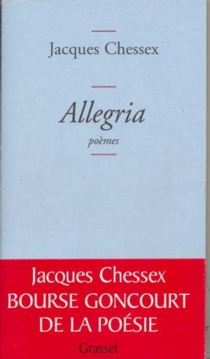 洋書, FICTION & LITERTURE Allegria Jacques Chessex