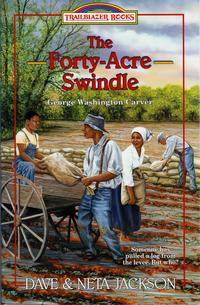 洋書, BOOKS FOR KIDS The Forty-Acre Swindle George Washington Carver Dave Jackson