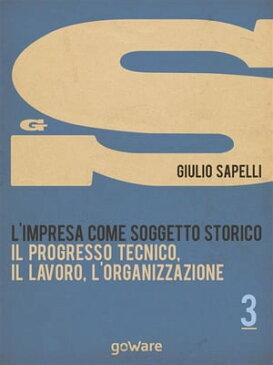 L'impresa come soggetto storico. Il progresso tecnico, il lavoro, l'organizzazione ? Vol. 3【電子書籍】[ Giulio Sapelli ]