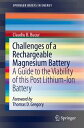 Challenges of a Rechargeable Magnesium BatteryA Guide to the Viability of this Post Lithium-Ion Battery【電子書籍】[ Claudiu B. Bucur ]