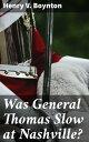 Was General Thom...