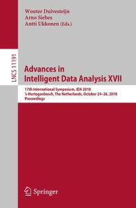 Advances in Intelligent Data Analysis XVII17th International Symposium, IDA 2018, 's-Hertogenbosch, The Netherlands, October 24?26, 2018, Proceedings【電子書籍】