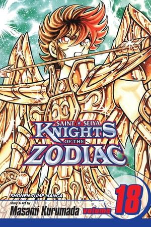 洋書, FAMILY LIFE & COMICS Knights of the Zodiac (Saint Seiya), Vol. 18 The End of the Azure Waves Masami Kurumada