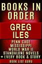 Greg Iles Books ...