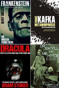 Frankenstein, Dracula, Dr. Jekyll & Mr. Hyde, and Metamorphosis Bumper Pack, With 45 Illustrations and Free Audio Links.【電子書籍】[ Mary Shelley ]