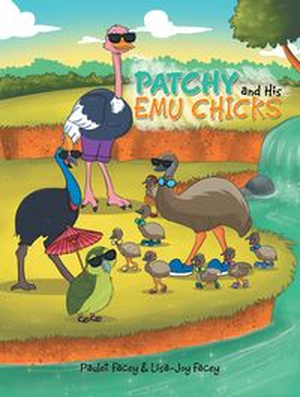 洋書, BOOKS FOR KIDS Patchy and His Emu Chicks Paulet Facey