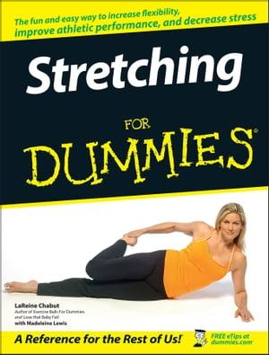 洋書, FAMILY LIFE & COMICS Stretching For Dummies LaReine Chabut