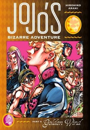 洋書, FAMILY LIFE & COMICS JoJos Bizarre Adventure: Part 5--Golden Wind, Vol. 2 Hirohiko Araki