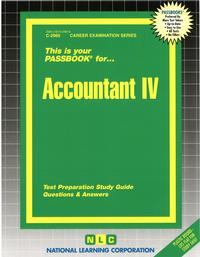 Accountant IVPassbooks Study Guide【電子書籍】[ National Learning Corporation ]
