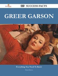 Greer Garson 139 Success Facts - Everything you need to know about Greer Garson【電子書籍】[ Bryan Barron ]