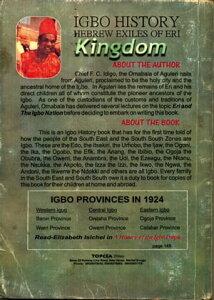 Igbo History Hebrew Exiles of Eri【電子書籍】[ Omabala Aguleri ]