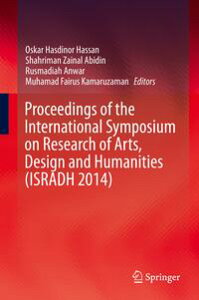 Proceedings of the International Symposium on Research of Arts, Design and Humanities (ISRADH 2014)【電子書籍】