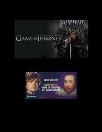 George RR Martin and William Shakespeare'sThe Real Game of Thrones【電子書籍】[ Jared William Carter (jw) ]
